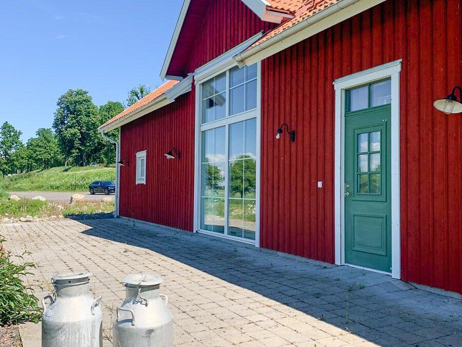 Butiken Vretaholm görs om till boende.